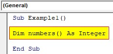 VBA Dynamic Array Examples1-2