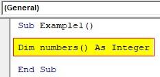 VBA Dynamic Array Examples1-2