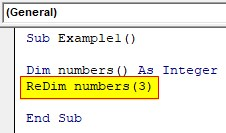 VBA Dynamic Array Examples1-3