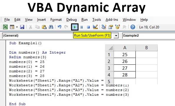 VBA Dynamic Array