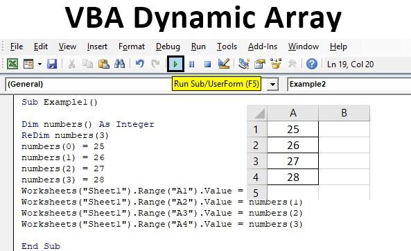 VBA Dynamic Array