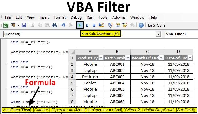 VBA Filter