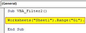 VBA Filter Examples 2-2