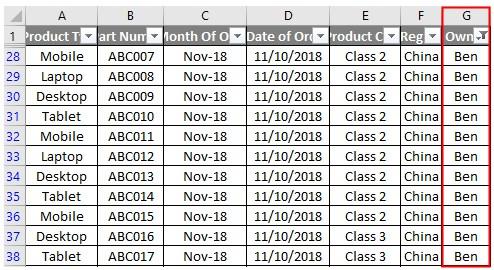 VBA Filter Examples 2-3