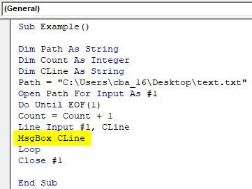 VBA Input Example1-10