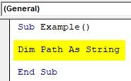 VBA Input Example1-2