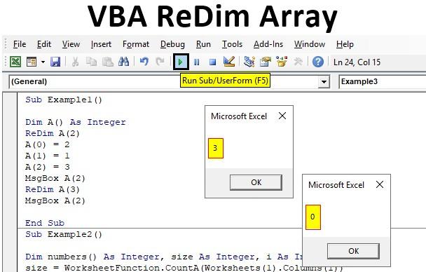 VBA ReDim Array | How to Use ReDim Array in Excel VBA?