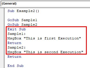 VBA Return Example 2-3