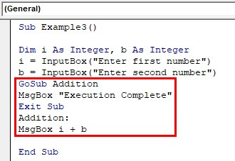 Addition Operation Example 3-3