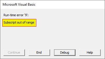 VBA String Array Examples 2-10