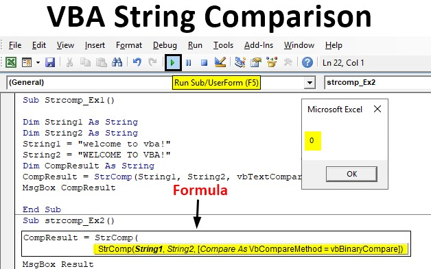 VBA String Comparison