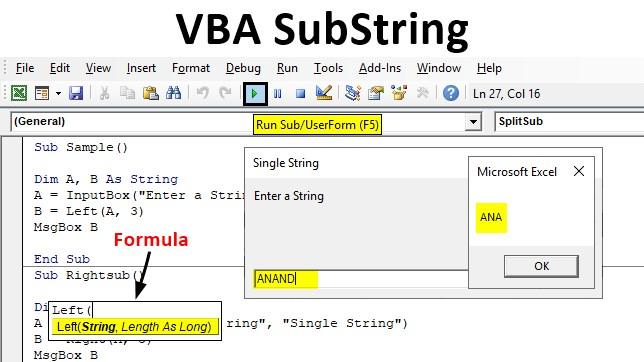 VBA SubString