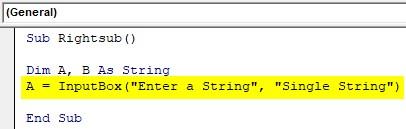 VBA SubString Example1-10