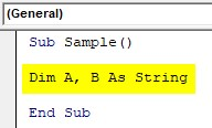 Excel VBA SubString Example1-2
