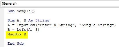 VBA SubString Example1-5