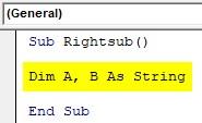 VBA SubString Example1-9