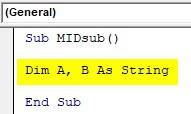 VBA SubString Example3-2