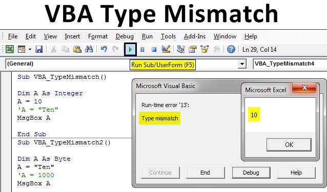 VBA Type Mismatch
