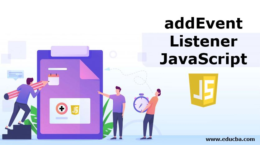 addEventListener JavaScript