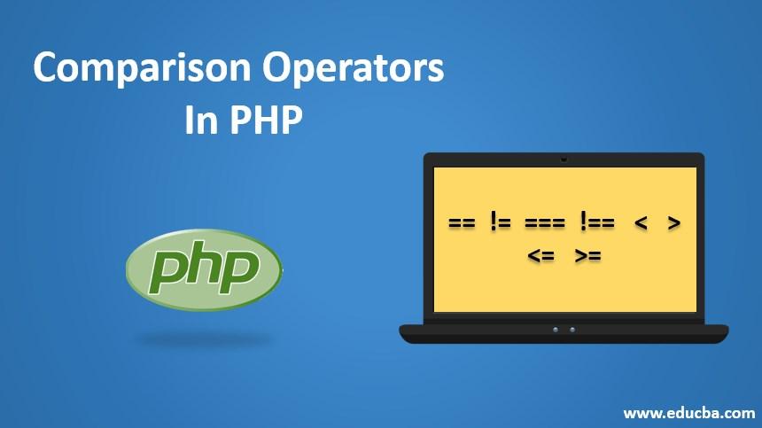 comparison operators in php