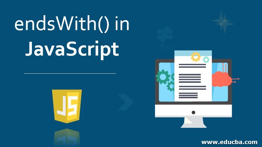 endsWith() in JavaScript