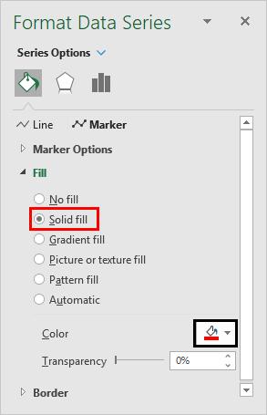 format data Series-Solid Fill