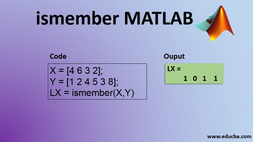 ismember matlab