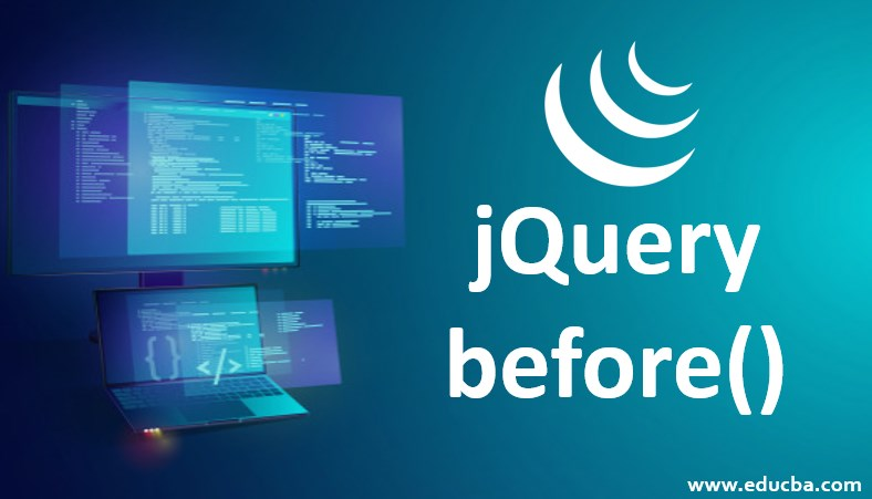jQuery before()