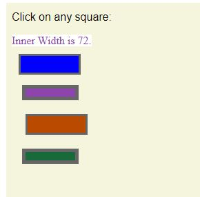 jQuery innerWidth () 3
