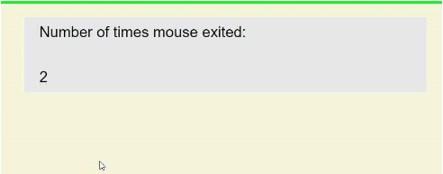jQuery mouseenter() eg2.5