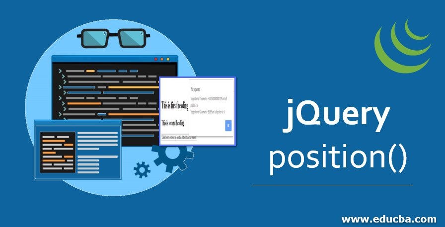 jQuery position()
