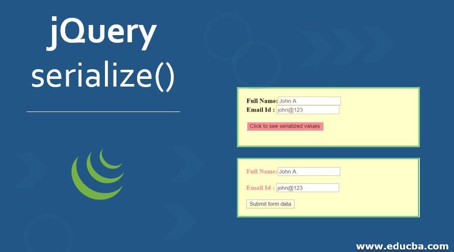 jQuery serialize()