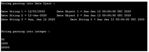 java parse string 1