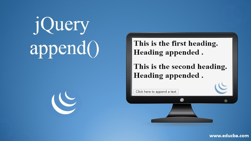 jquery append