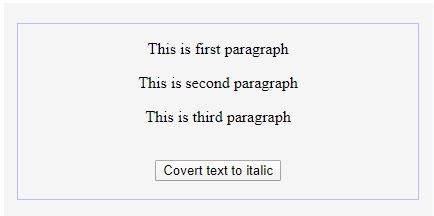 jquery wrapIn() - Text to Italic