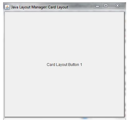 layaout manager in java 1