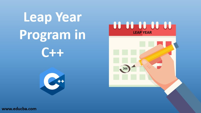 leap year progran in c++