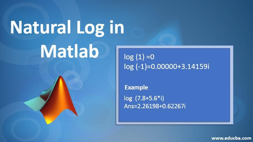 natural log in matlab