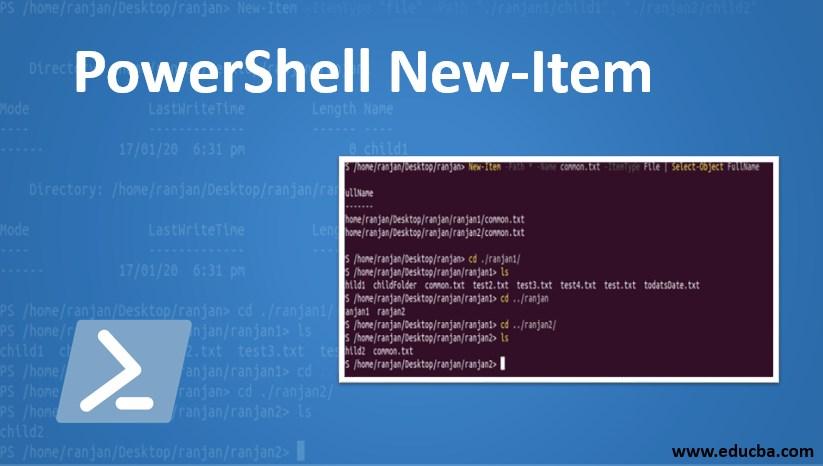 powershell new item