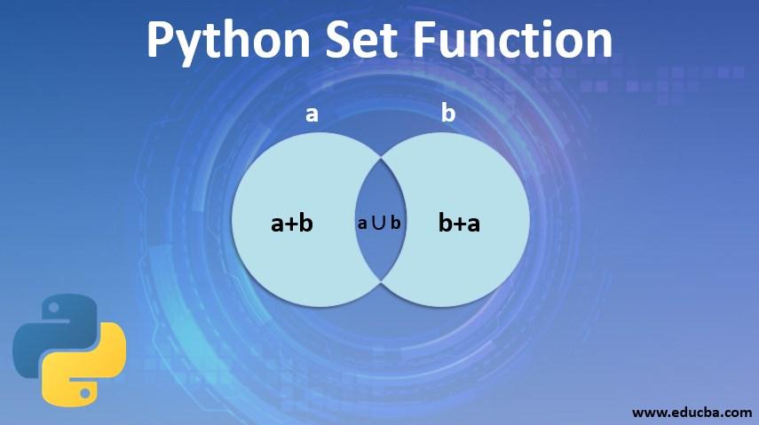 Python Set Function
