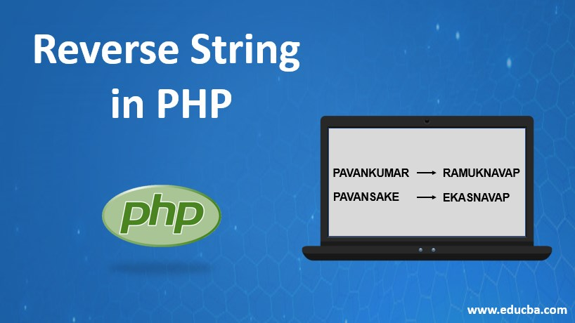 reverse string in php