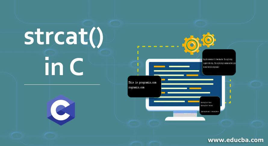 strcat() in C