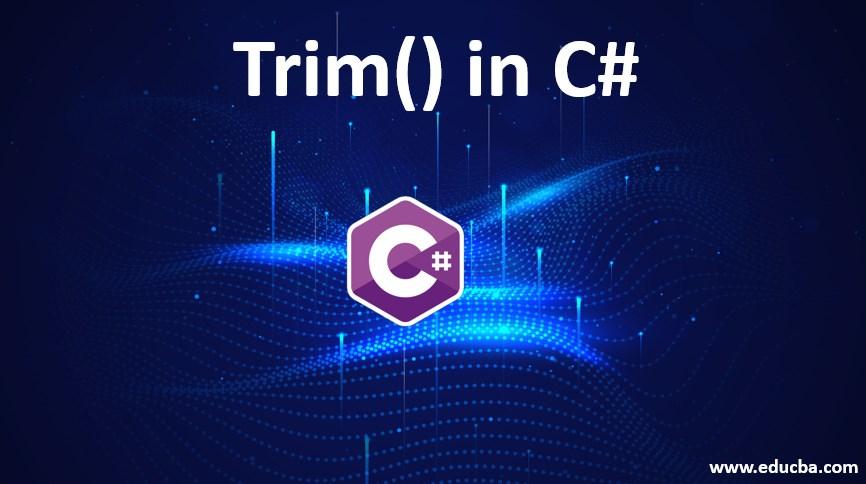 trim in c#