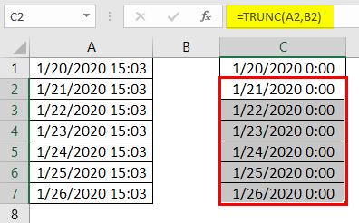 trunc excel 2-3