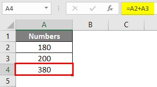 Write Formula in Excel 1-6