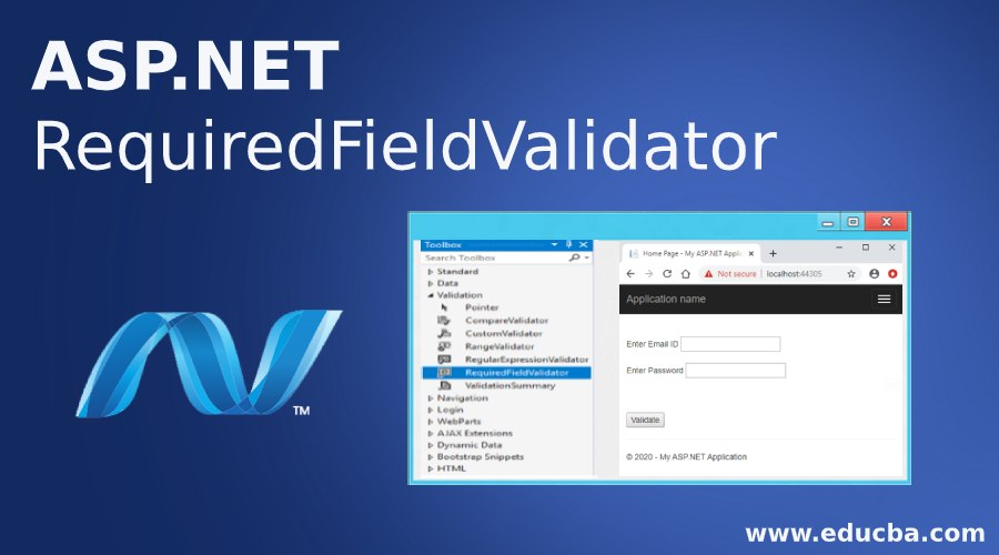ASP.NET RequiredFieldValidator