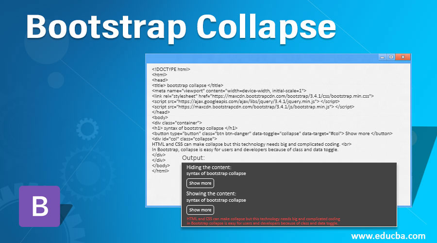 Bootstrap-Collapse
