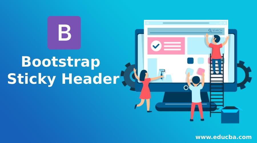 Bootstrap Sticky Header