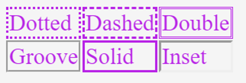 CSS Border Style-1.3