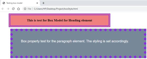 CSS Box Model -4